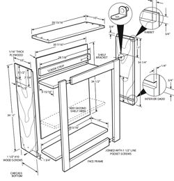 plans kitchen cabinets